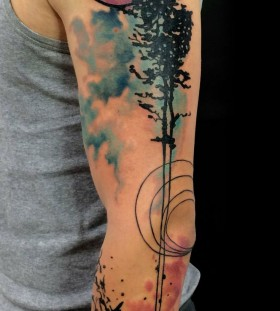 Great looking nature tattoos