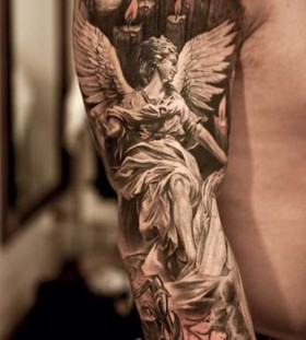 angel work of art tattoo
