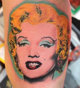 marilyn work of art tattoo