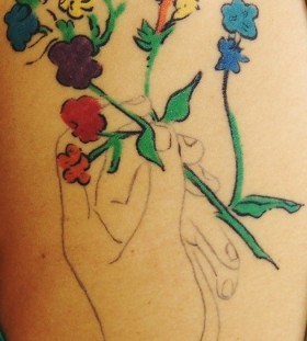 work of art tattoo Andy Warhol
