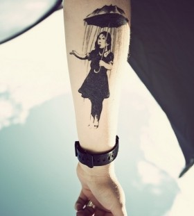 work of art tattoo black style image