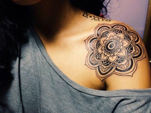 Womens Shoulder Lotus Flower Tattoo Tattoomagz Tattoo Designs