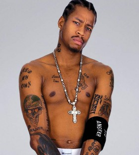 Amazing Allen Iverson tattoos