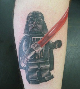 Awesome Darth Vader tattoo