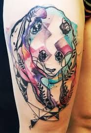 Awesome looking animal tattoo