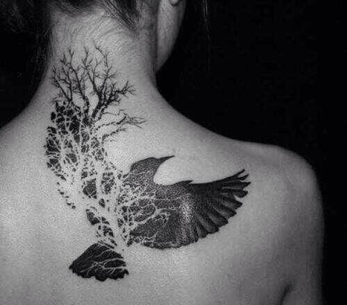 Beautiful Dove Back Tattoo Tattoomagz Tattoo Designs Ink