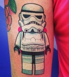 Beautiful star wars tattoo