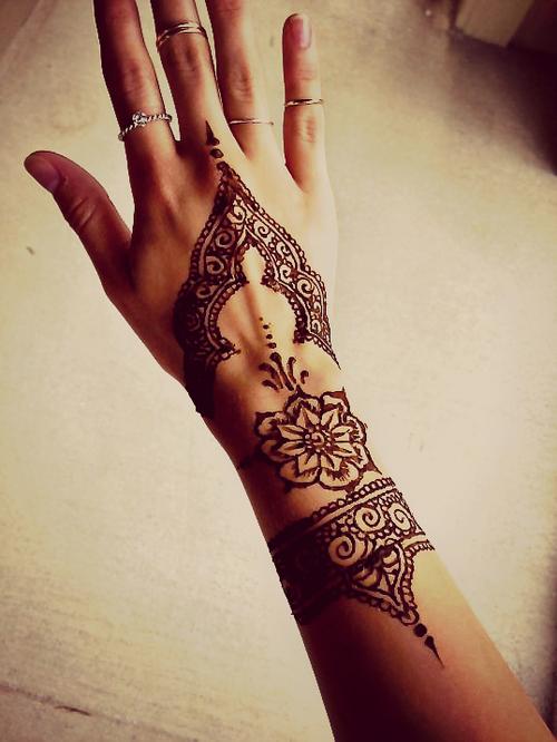 Bohemian Style Hand Tattoo Tattoomagz Tattoo Designs