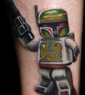 Cool lego star wars tattoo