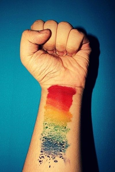 Different colours watercolor tattoo