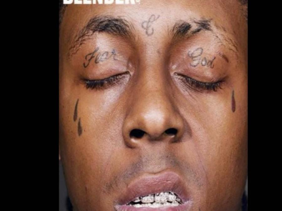 Fear God Lil Wayne eyes tattoo