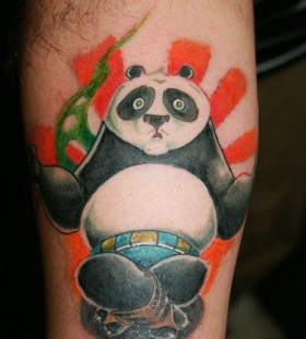 Kung fu panda tattoo