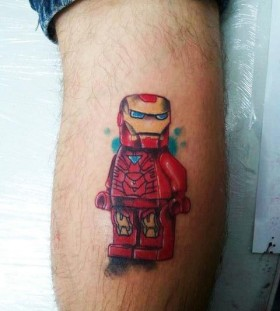 Lego Ironman tattoo