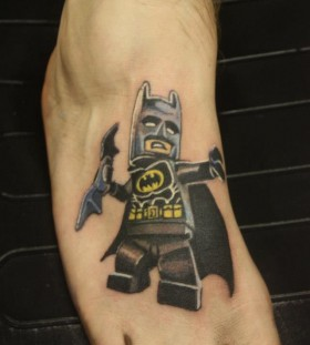 Lego batman tattoo