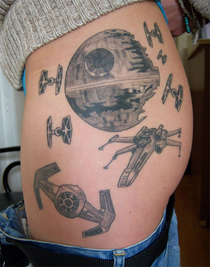 Star Wars Tattoo 34