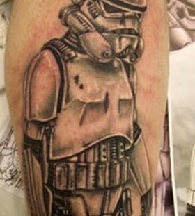 Lego star wars stormtrooper tattoo