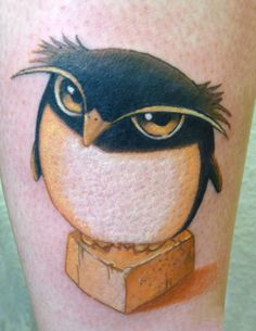 Little penguin tattoo