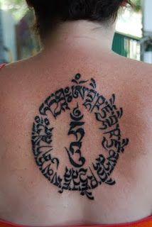 Medicine Budha Tara Mantra tattoos