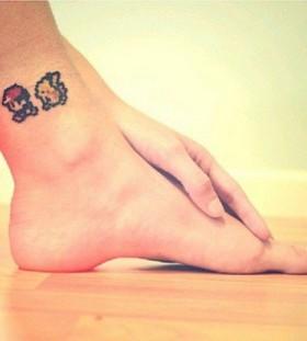 Rad lovely game tattoo