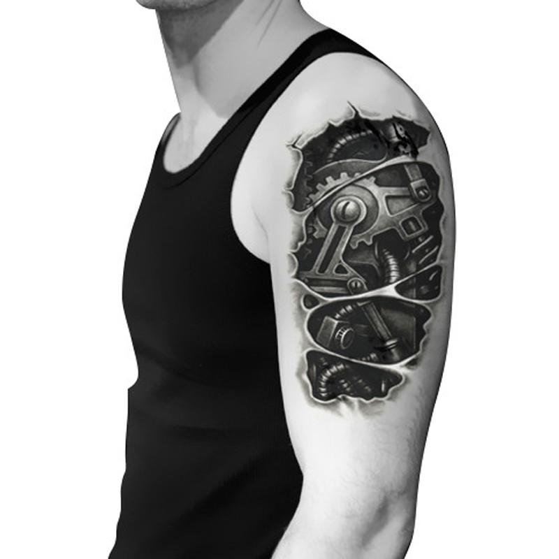 Robot mechanism arm tattoo