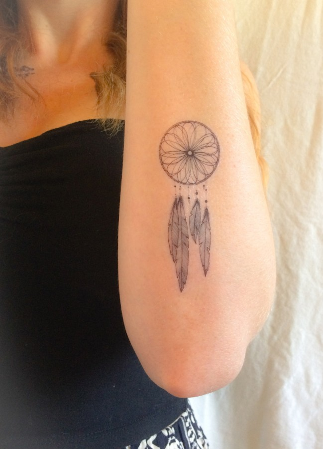 Tattoo for the bohemian type