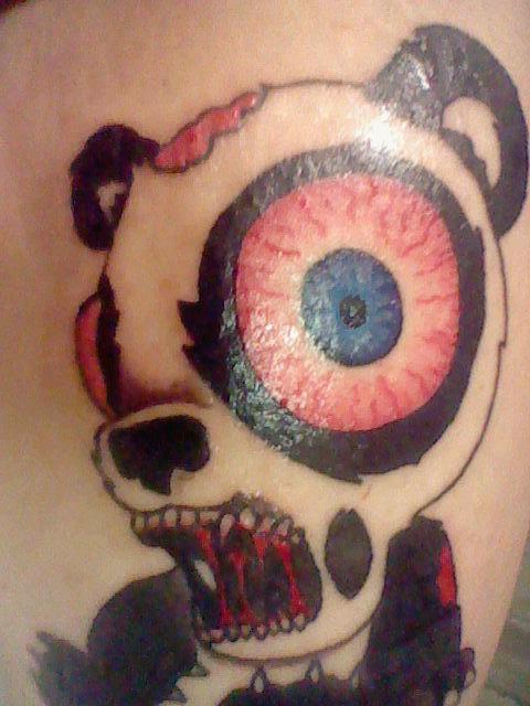 Zombie Panda Bear Tattoo Tattoomagz Tattoo Designs Ink Works