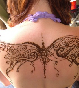 Fairy wing tattoo gorgeus ink