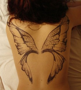 Fairy wing tattoos inspiration