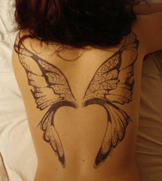 Fairy wing tattoos inspiration