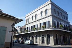 The LaLaurie Mansion in New Orleans, Louisiana