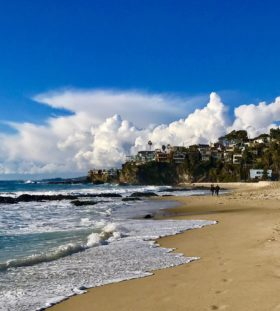 Thousand Steps Beach in Laguna Beach