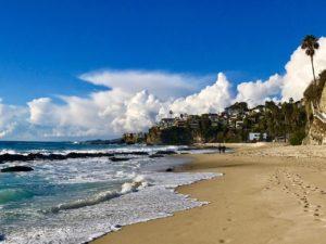 Thousand Steps Beach in Laguna Beach