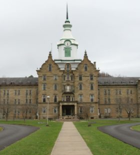 Trans-Allegheny Lunatic Asylum in Weston, West Virginia