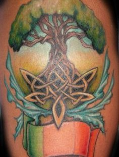 Tree of life tattoo by Jessica Brennan