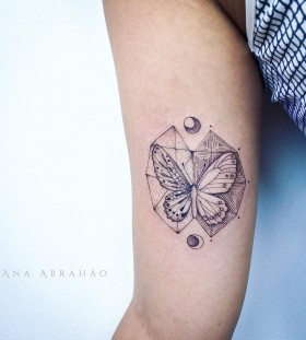 two-sided-butterfly-tattoo-by-abrahaoana