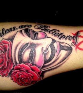 V for vendetta quote tattoo