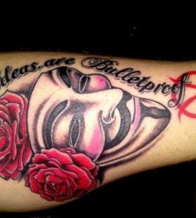 V for vendetta quote tattoo