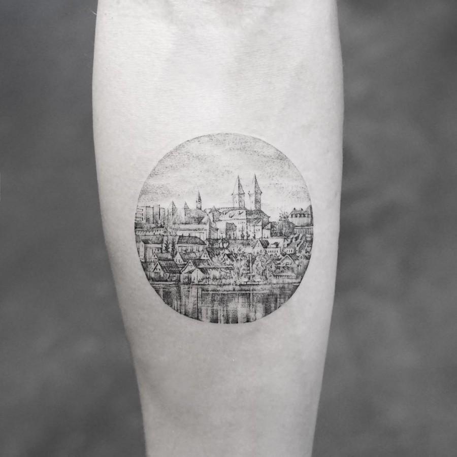 viborg in denmark tattoo