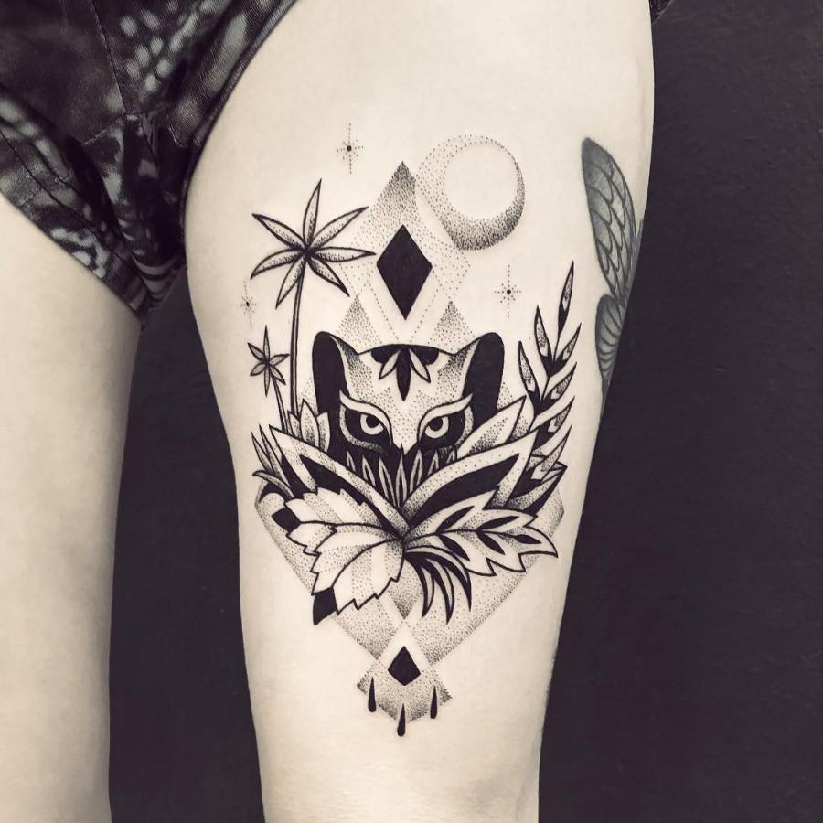 violette-bleunoir-panther-blackwork-tattoo