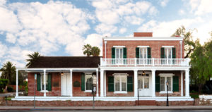 Whaley House in San Diego, California