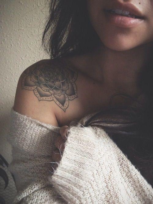 Lovely shoulder tattoos