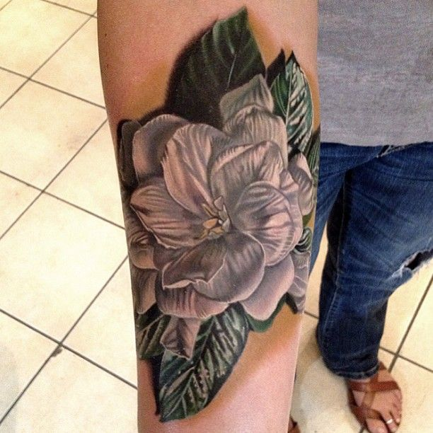 22ceef7df White flower tattoo by Phil Garcia - | TattooMagz › Tattoo Designs ...