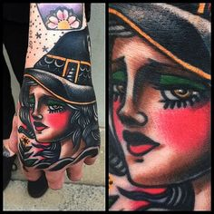 Witch hand tattoo by James McKenna