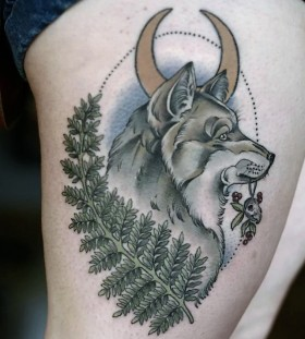 wolf-tattoo-by-kristen-holliday