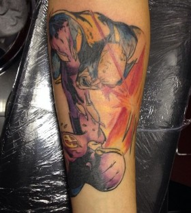 Wolverine and cyclops tattoo