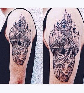 Wonderful tattoo by Jessica Svartvit