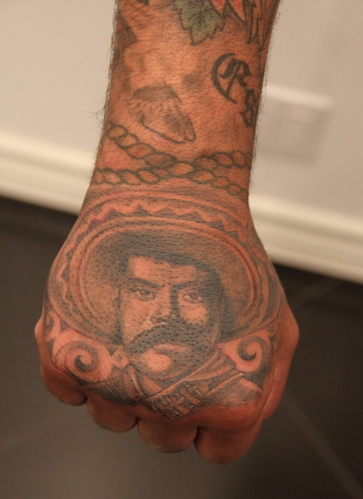 mister cartoon cultura and pride tattoo design idea