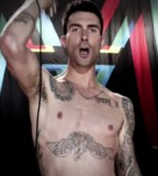 Adam Levine Tattoos on Body