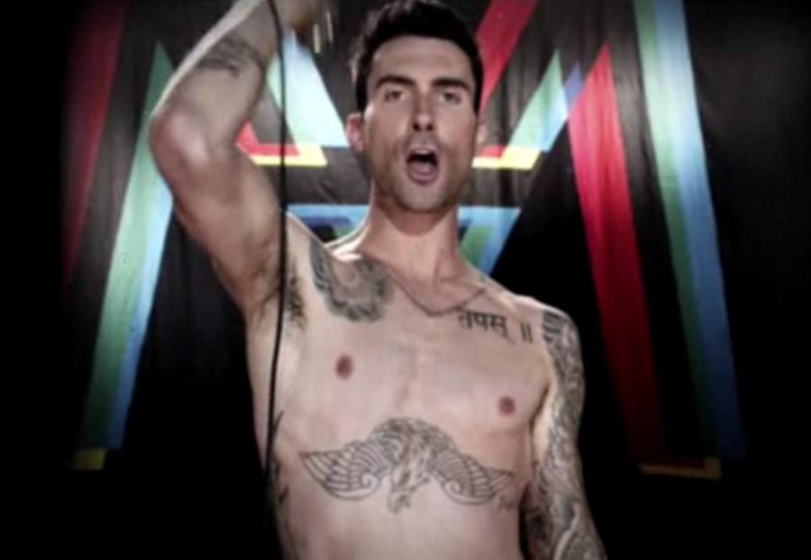 Adam Levine Tattoos on Body