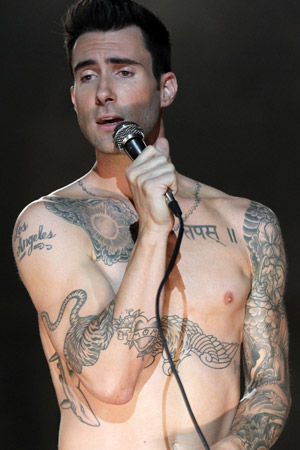 Adam Levines Tattoo Popcrush
